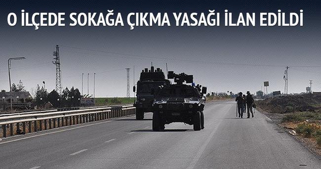 Cizre'de sokağa çıkma yasağı ilan edildi!