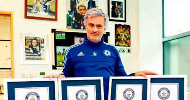 Mourinho'dan 4 Guiness rekoru