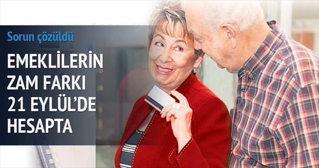Emeklinin hesabına farklar yatırılıyor
