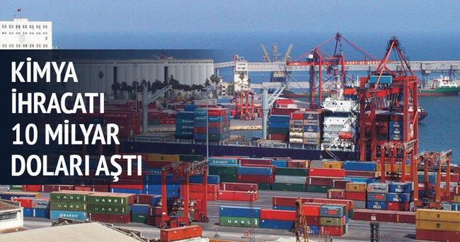 Sekiz ayda 10 milyar 498 milyon dolar ihracat