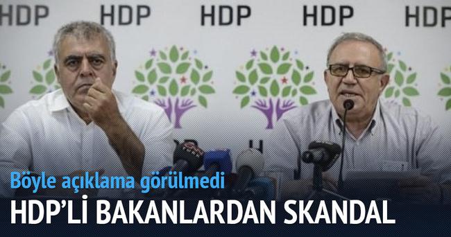 HDP'li bakanlar: Cizre'de devlet katliam yapıyor