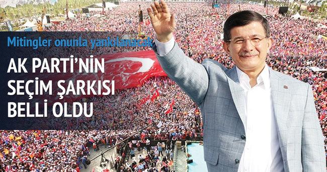 AK Parti'nin seçim şarkısı Mustafa Sandal'dan