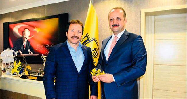 Akgül'den Ankaragücü'ne destek