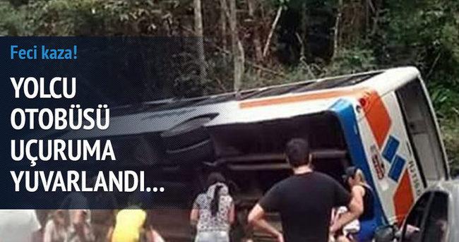 Brezilya'da feci kaza!