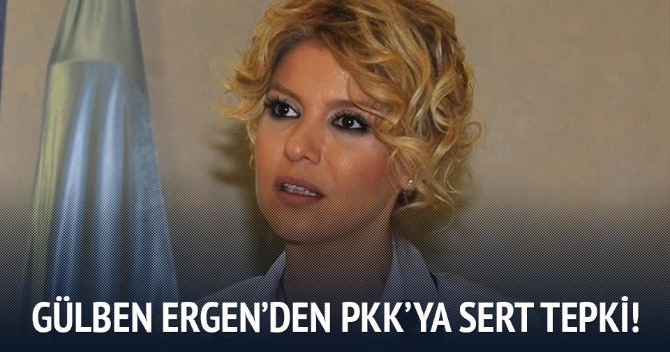 Gülben Ergen'den Dağlıca saldırısı sonrası PKK'ya sert tepki