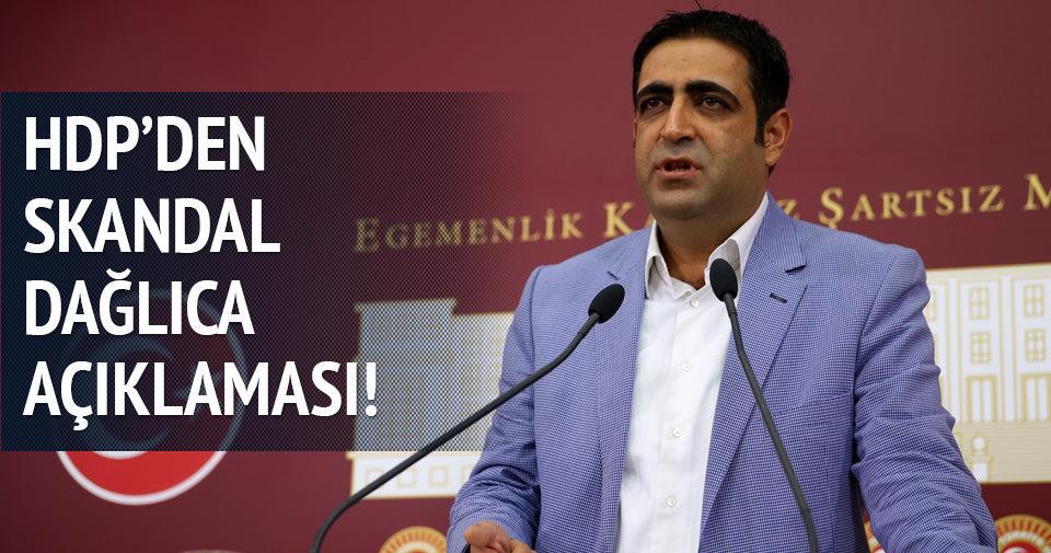 HDP'den skandal Dağlıca açıklaması