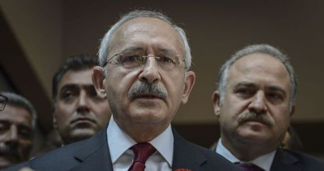 Kılıçdaroğlu, Başbakan'dan randevu talep etti