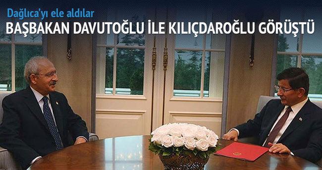 Davutoğlu-Kılıçdaroğlu'ndan kritik görüşme