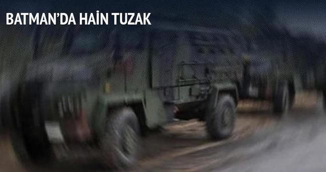 Askeri araçlara saldırı! Operasyon başlatıldı