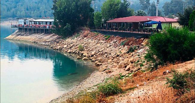 Baraj gölünde talan dönemi