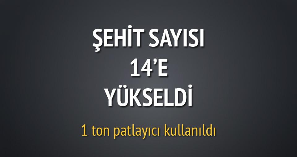 Iğdır'da polise saldırı: 14 şehit