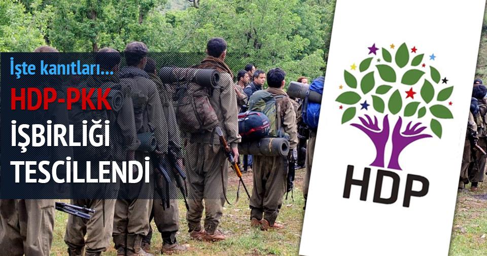 HDP- PKK işbirliği tescillendi