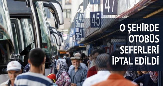 Diyarbakır'da otobüsler sefere çıkmayacak