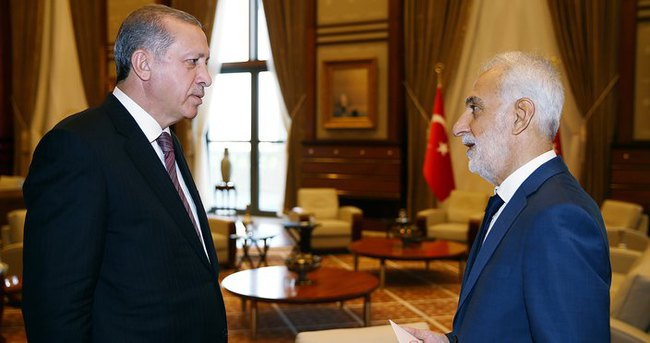 Erdoğan, Kamu Başdenetçisi'ni kabul etti