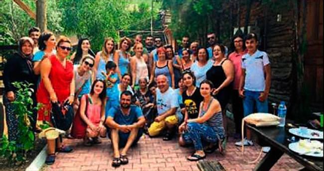Erasmus öğrencileri tatilde
