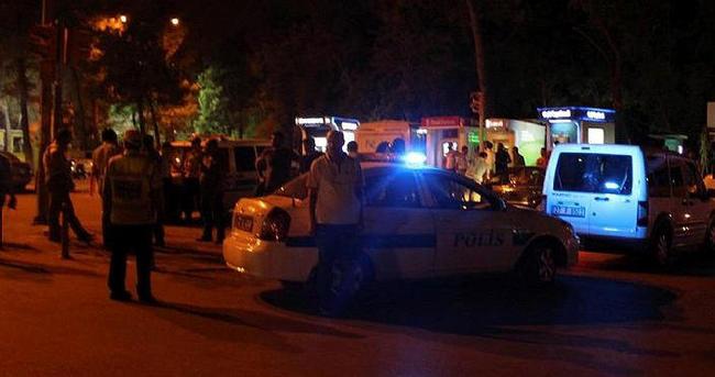 Polis çatışmada vurularak yaralandı