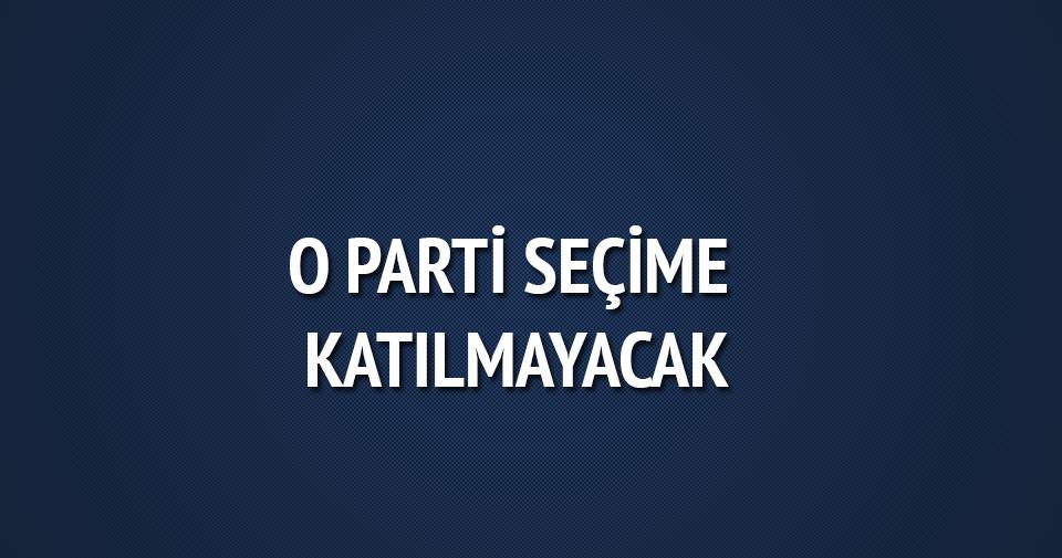 FLAŞ! Anadolu Partisi seçime katılmayacak