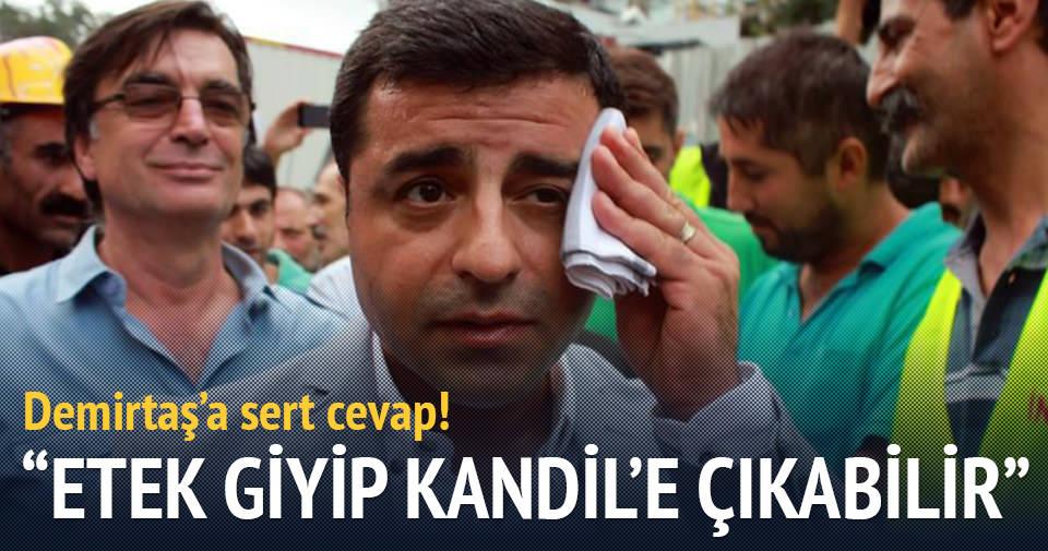 Bakan Yıldız'dan Demirtaş'a sert cevap: Terörist eteğiyle Kandil'e çıkabilir