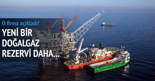 Yeni bir doğalgaz rezervi daha...