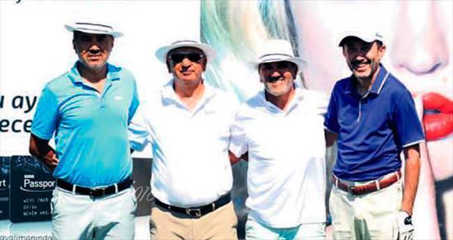 Golfün ustaları Bodrum'da buluştu