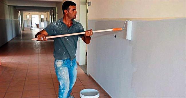 Büyükşehir okulları yeniliyor