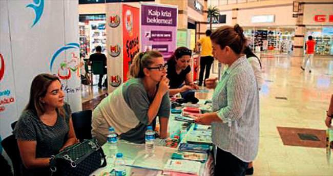 M1 Merkez Adana'da Sağlık Haftası etkinliği