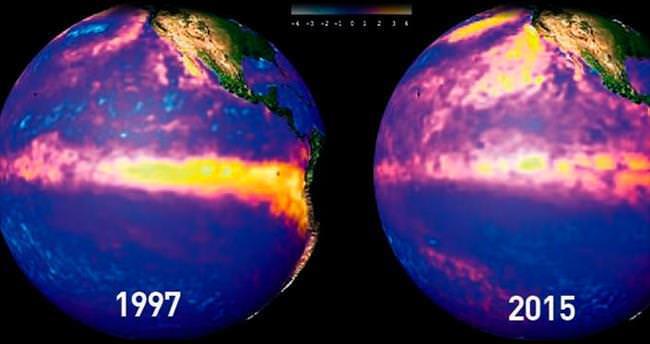 18 yılda El Nino hiç değişmemiş