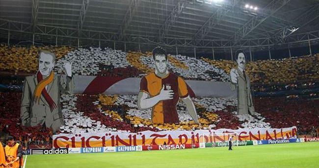 Galatasaray'dan Atletico maçına özel koreografi