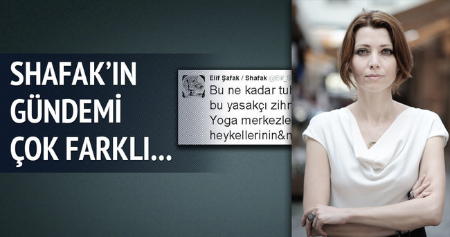 Elif Şafak'ın yoga derdi!