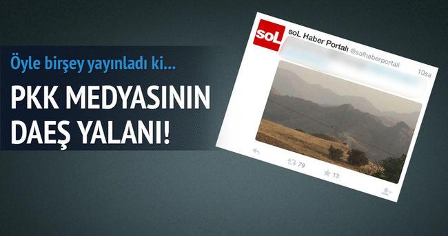 PKK medyasının DAEŞ yalanı!