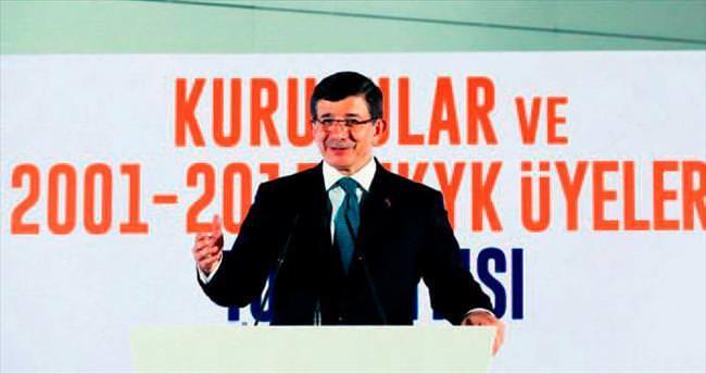 Kongrede tek aday Davutoğlu