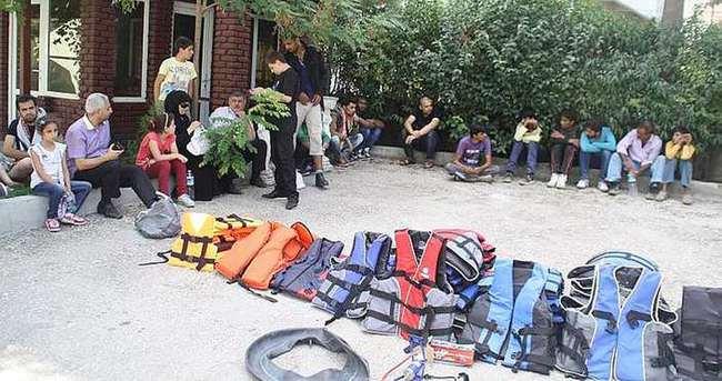 Edirne'de Suriyeli 176 kaçak yakalandı