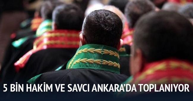 Yargıda Birlik 5 bin hakim savcıyı Ankara'da topluyor
