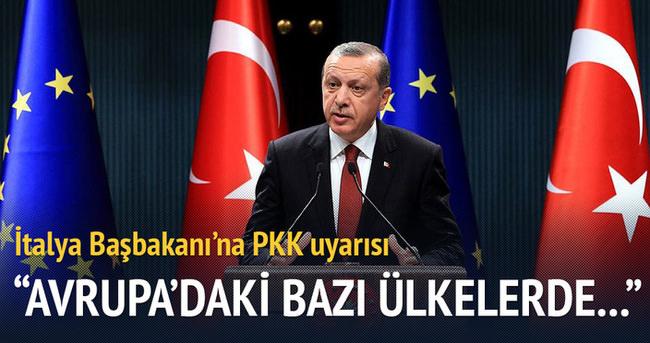İtalya'ya PKK uyarısı