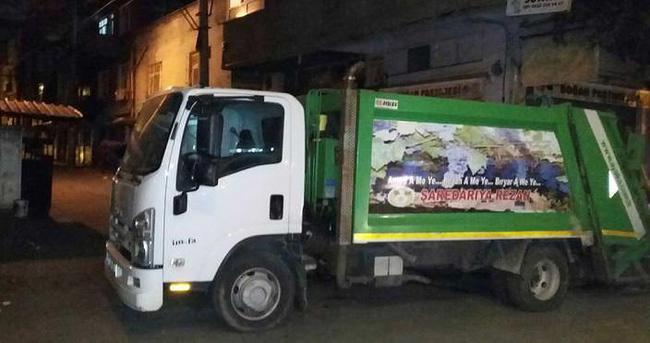 Diyarbakır'da maskeli grup çöp kamyonuyla polise saldırdı!