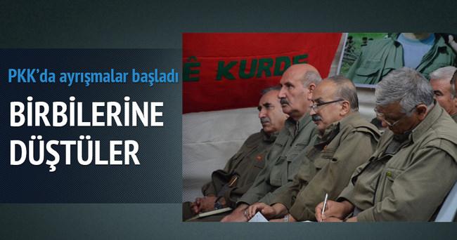 PKK'nın üst düzey isimleri birbirine düştü