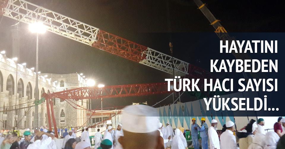 Kabe'de ölen Türk Hacı sayısı 4'e yükseldi, 1 kişi kayıp