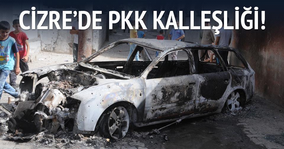 Cizre'de PKK kalleşliği!