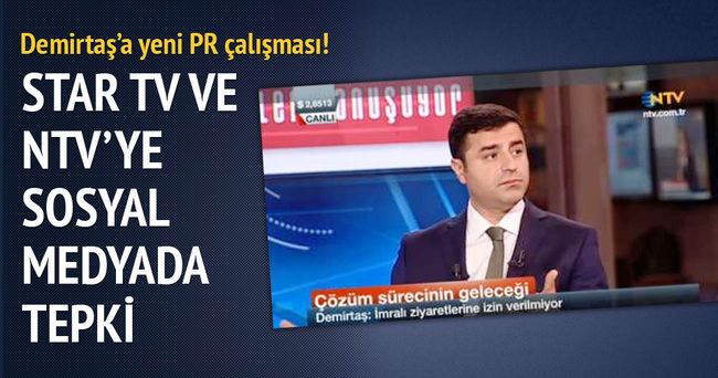 Demirtaş'a yeni PR çalışması!