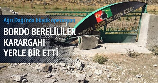 Bordo Bereliler'den Ağrı'da PKK'ya büyük darbe