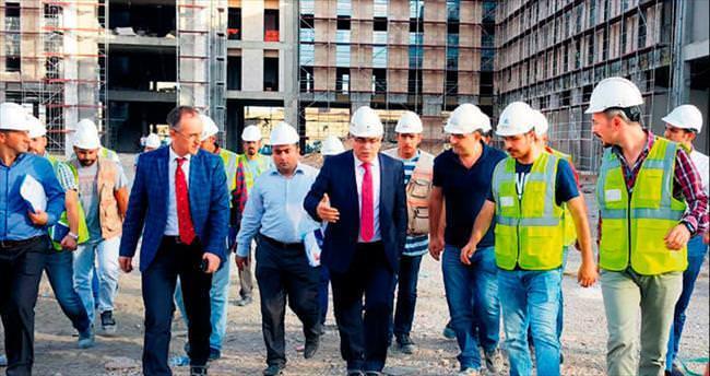 TOKİ'nin dev kampus inşaatları hızla ilerliyor