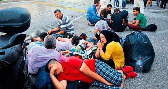 Basmane'de yeniden sığınmacı hareketliliği