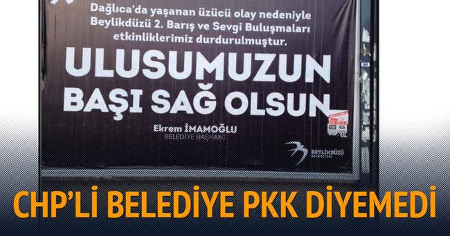 CHP'li Belediye'den skandal afiş