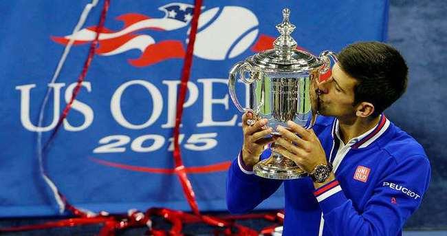 ABD Açık'ta şampiyon Djokovic
