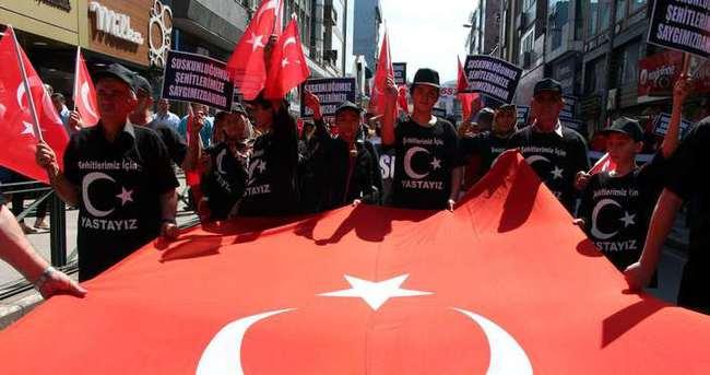 Zonguldak'ta yas yürüyüşü!