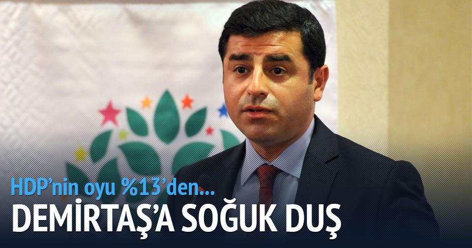 HDP'nin oyu %13'den %11'e indi