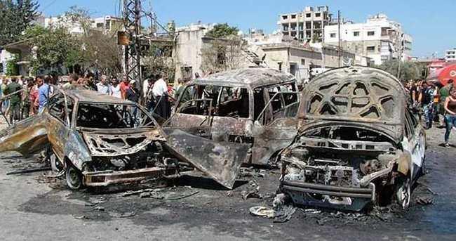 Suriye'de bomba yüklü iki araç patlatıldı