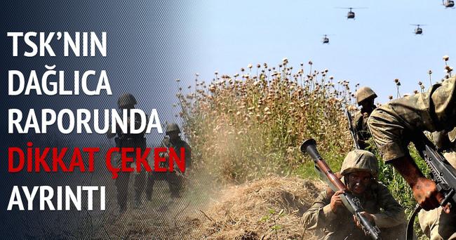 PKK Dağlıca'da 3.2 ton patlayıcı kullandı
