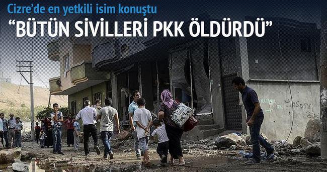 Cizre Kaymakamı: Sivilleri PKK öldürdü