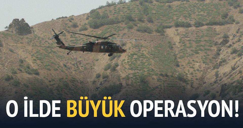 Tunceli'de büyük operasyon!